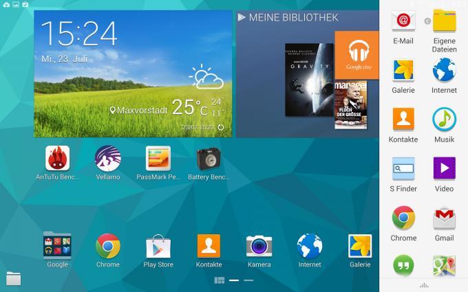 Samsung Galaxy Tab S 10.5 im Test: Das bessere iPad Air?