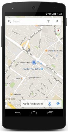 Google Maps erhält