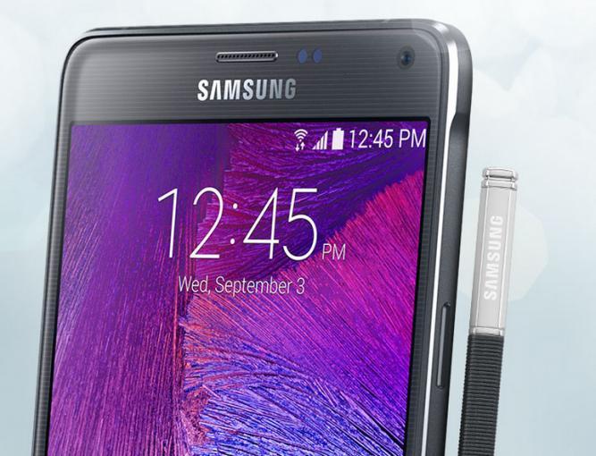Samsung präsentiert das Galaxy Note 4: Design-Anteile von Galaxy Alpha und erstmals mit 64-Bit Unterstützung