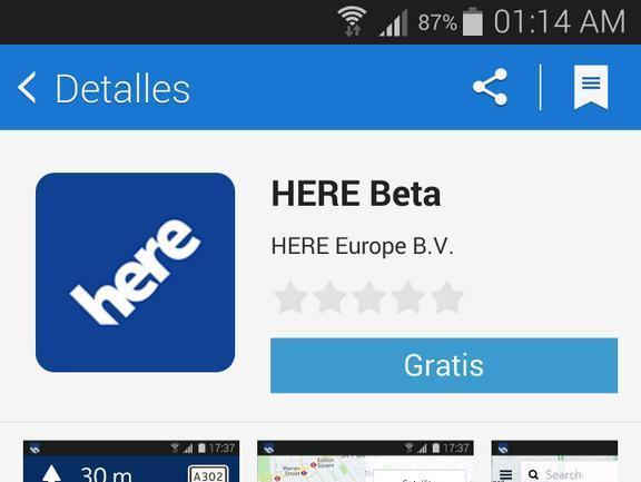 Nokia bringt Navigations-Software HERE Maps in den Samsung App Store und auf Tizen