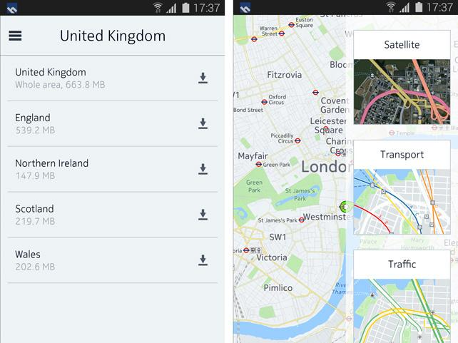Nokia HERE als Beta-Version in Samsungs App Store verfügbar