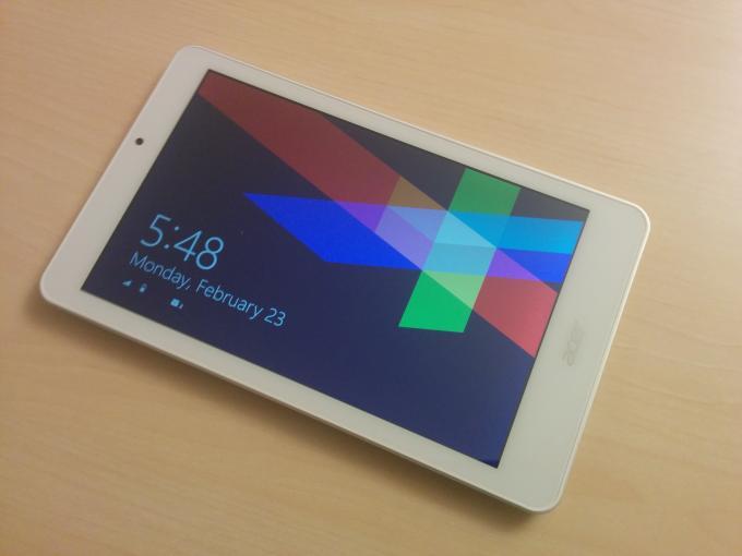 Das Iconia Tab 8 W1-810 ist ein preiswertes Einsteiger-Tablet