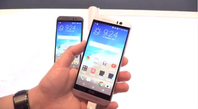 Das HTC One M9 hat sich gegenüber seinem Vorgänger ...