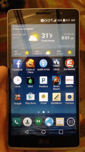 Das LG G4 zeigt sich auf Fotos
