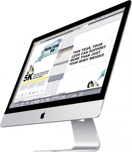 Eigene Seitenformate bis hin zum Litfaßsäulen-Format lassen sich in Originalgröße gestalten.