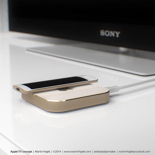 So ungefähr könnte Apple TV aussehen - wenigstens nach der Meinung von Konzept-Designer Martin Hajek