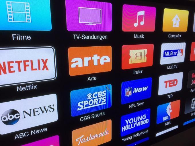 Die Anzahl an Apps auf Apple TV ist sehr überschaubar
