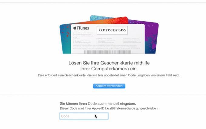 So lösen Sie iTunes-Geschenkkarten in iTunes ein