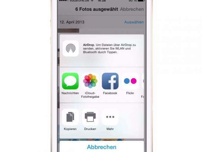 Dank eines Tricks können Sie in iOS mehr als nur 5 Fotos auf einmal via E-Mail versenden