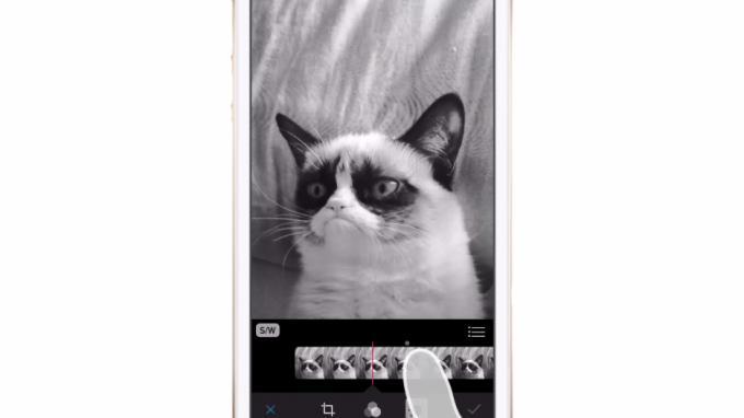 Fotos lassen sich direkt auf dem iPhone bearbeiten