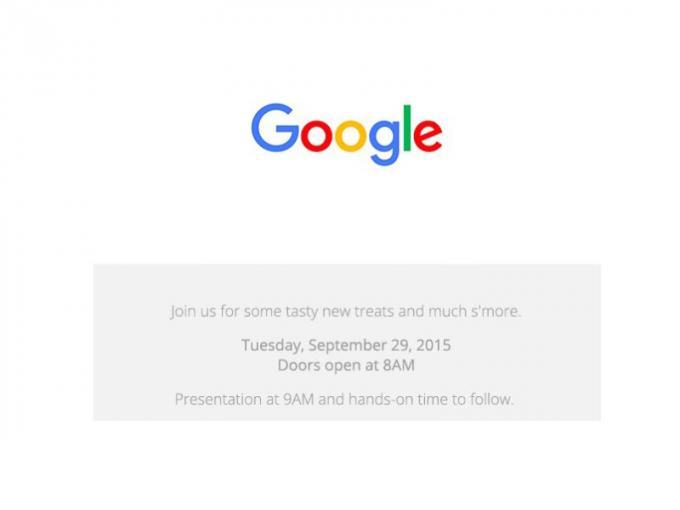 Neue Nexus-Smartphones und mehr: Google lädt zum Event am 29. September ein