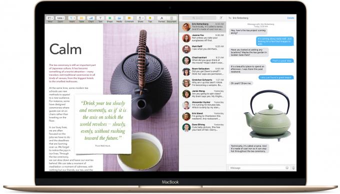 """Beim Fenstermanagement hat sich einiges getan. Nicht nur, dass Mission Control überarbeitet wurde, nein, der Mac beherrscht jetzt auch """"Split View""""."""