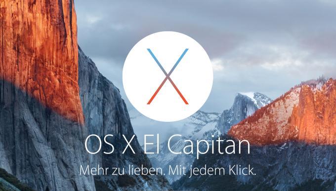 Das Warten hat ein Ende: Ab sofort im Mac App Store verfügbar – OS X 10.11 El Capitan