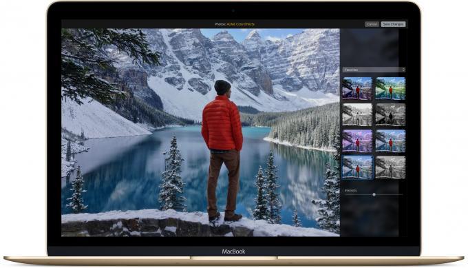 Die Fotos-App erhält viele Detail-Verbesserungen und ermöglicht jetzt das Einbinden anderer Bildbearbeitungs-Programme über so genannte Erweiterungen.