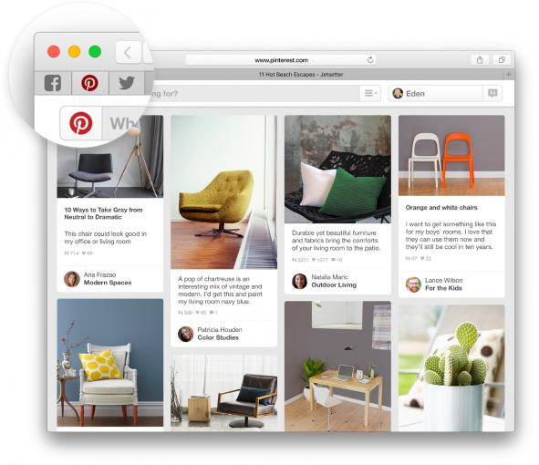 Safari spendiert Apple vor allem drei Neuerungen: Fixierte Tabs, einen Stummschalter und AirPlay Video.
