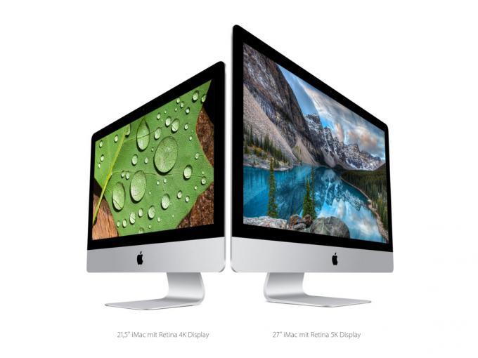 Sowohl der kleine als auch der große iMac verfügen nun über ein Retina-Display. Merkwürdig ist, dass Apple keinen reinen Retina-Bildschirm im Angebot hat.
