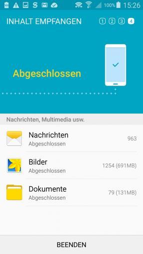 Samsung-Smartphone: Alle Daten auf das neue Telefon portieren