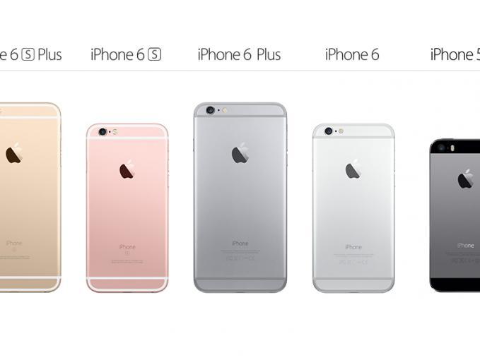 Alle derzeit von Apple verkauften iPhones