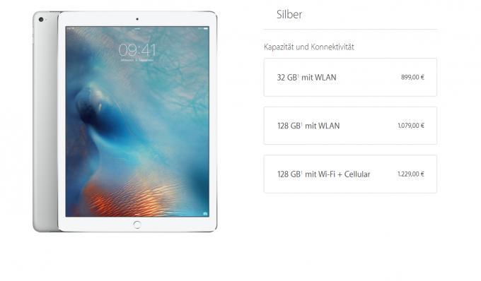 Das iPad Pro ist nicht gerade günstig