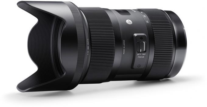 SIGMA Art 18-35mm F1,8 DC HSM