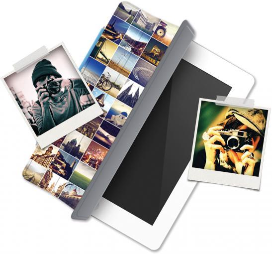 iPad Polaroid