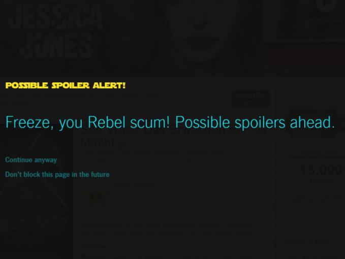 So könnt ihr Star Wars-Spoiler vermeiden