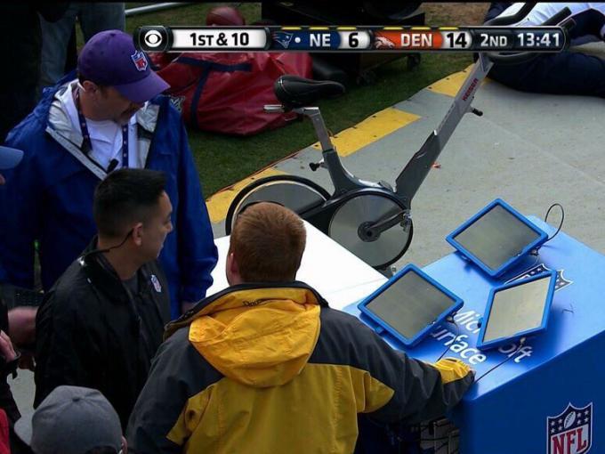 Die Surfaces der Patriots fielen während des NFL-Halbfinales aus