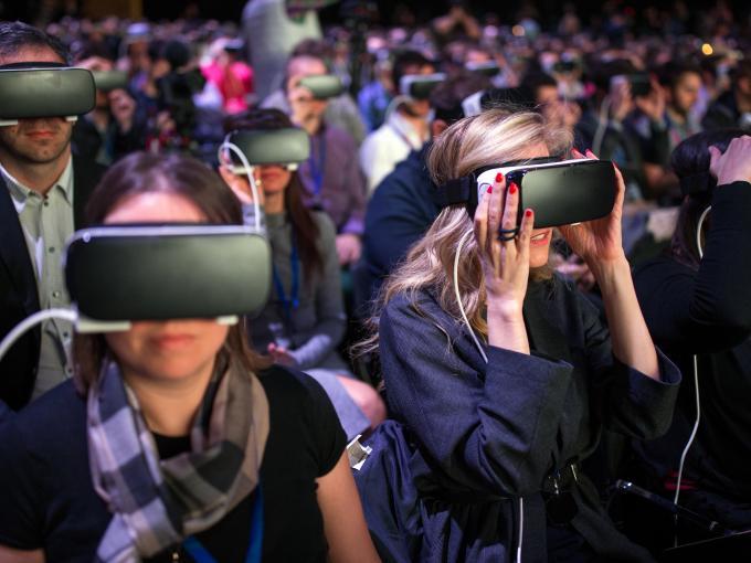 Auf dem MWC in Barcelona sind VR-Geräte richtig aufgeblüht