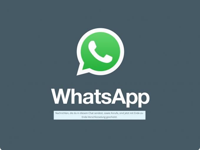 WhatsApp verschlüsselt ab sofort alles