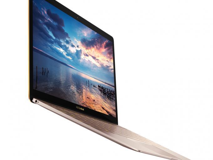 Das Asus Zenbook 3 ist dünner und leichter als da MacBook...