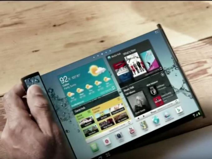 Faltbare Displays sind Samsungs großer Traum