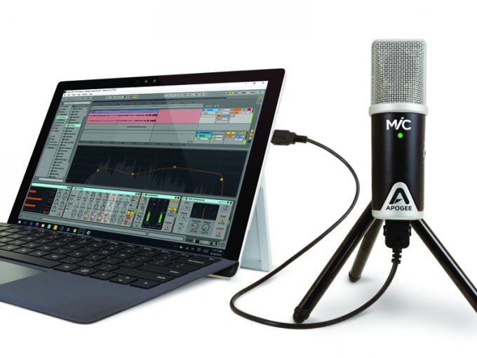 Das Apogee MiC 96k ist mit WIndows und Mac kompatibel