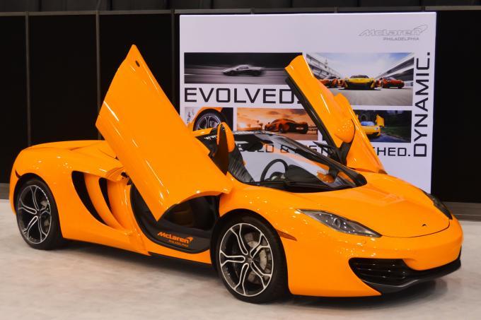 Sportwagen von McLaren