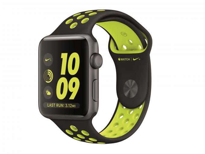 Die Nike-Version der Apple Watch Series 2 hat einige Besonderheiten