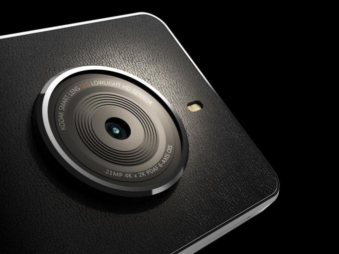 Die Kodak Ektra sieht schick aus