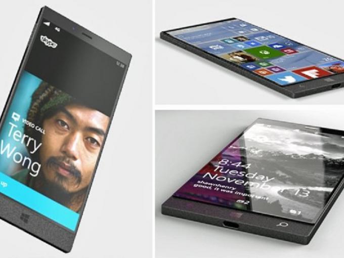 Das Surface-Phone-Konzept sieht schick aus