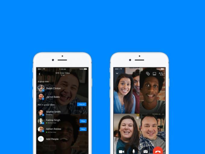 Der Messenger kann jetzt Video-Gruppen-Calls