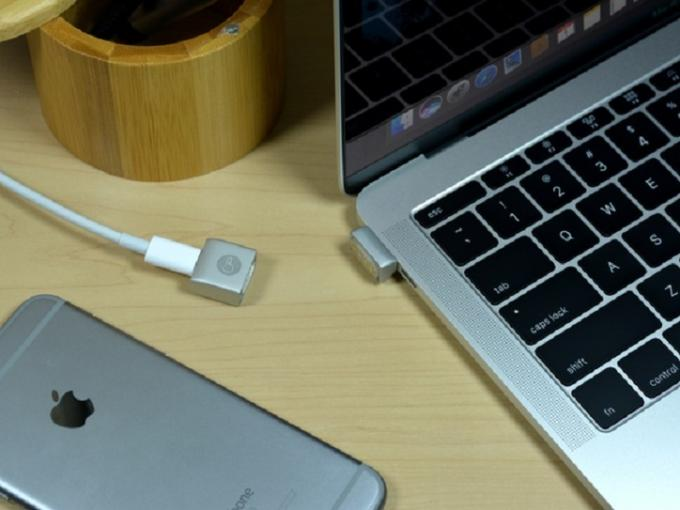 Der MagNeo ist kleiner als andere MagSafe-Ersatz-Adapter