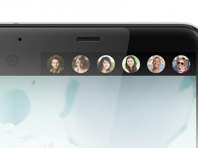 Das HTC U Ultra besitzt 2 Displays