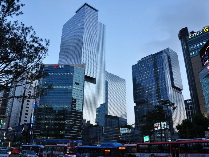 Samsungs Hauptquartier in Seoul