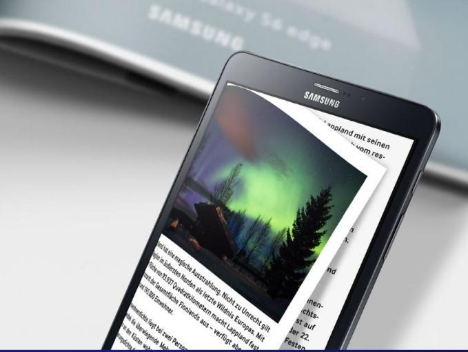 Das Galaxy Tab S2 ist bereits eineinhalb Jahre alt