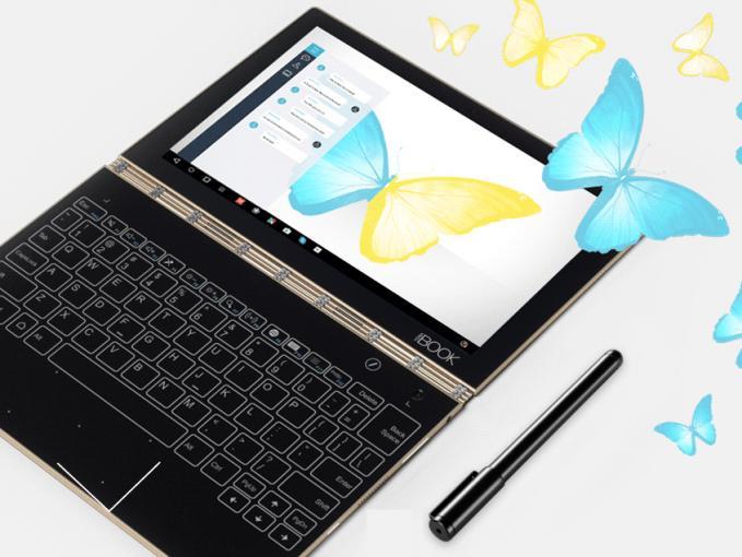Das Lenovo Yoga Book kommt in einer neuen Version