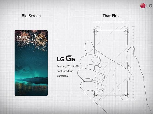 Teaser zum LG G6