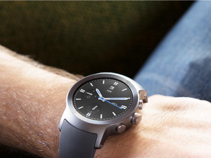 Die LG Watch Sport