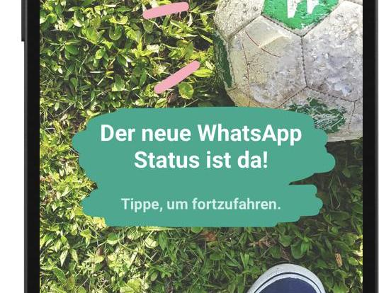 "WhatApp-Funktion ""Status"""