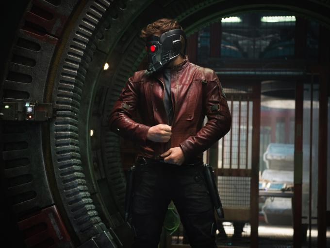 Star-Lord mit Helm