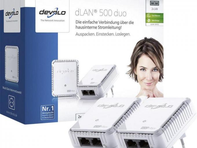 devolo dLAN 500 duo Starter Kit