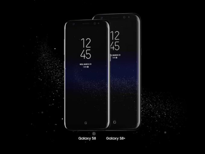 Das Galaxy S8 beherrscht Gesichtserkennung