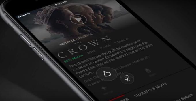 Netflix: Weg mit den Sternen, her mit den Daumen
