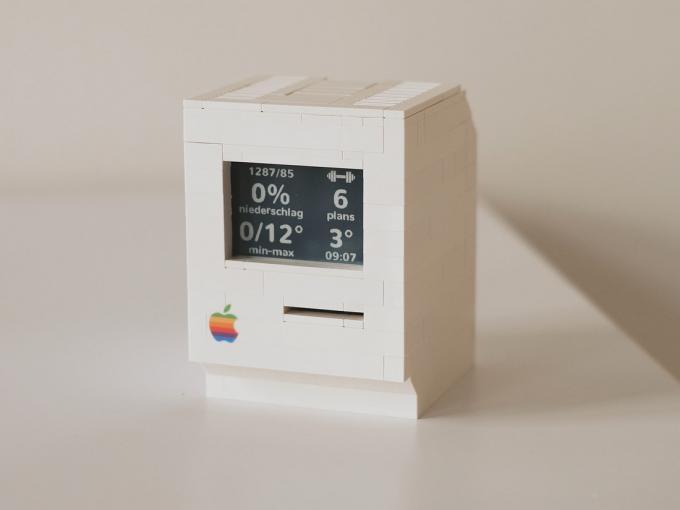 Mini-Macintosh aus Lego